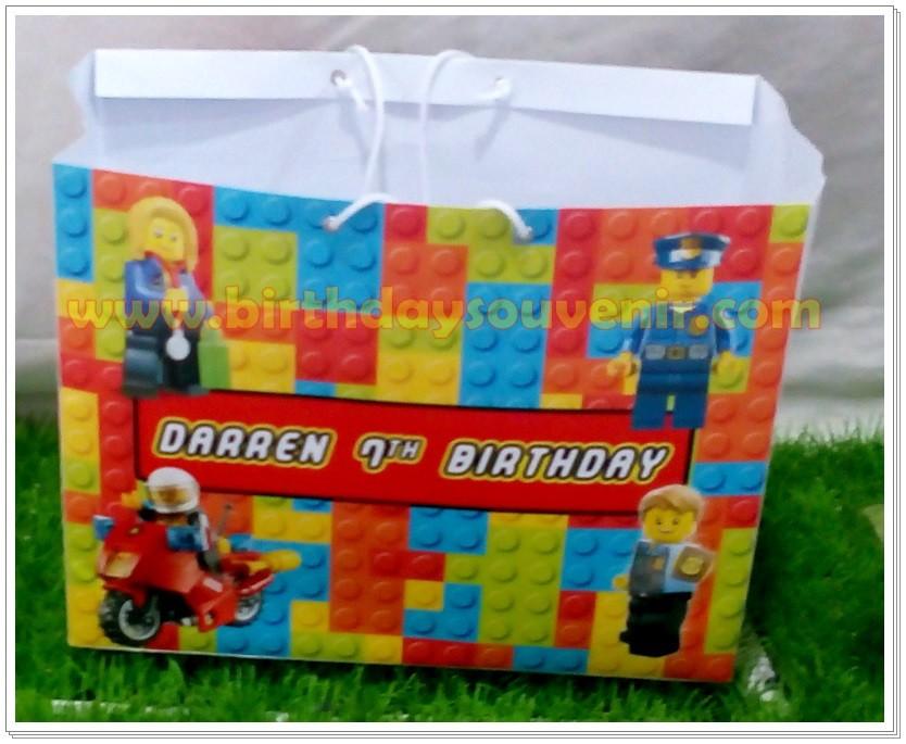 Souvenir Tas / Goodie Bag » Paper Bag Personalized » Souvenir Paper ...