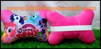 Souvenir Bantal Print Neck Pillow Little Ponny
