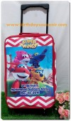 Souvenir Tas Koper Trolley Anak Tema Superwings