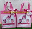 Souvenir Tote Bag Dinir Tema Baby Girl