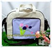 Souvenir Tas Travel bordir tema Flower Tulip