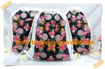 Souvenir Tas Backpack Blacu Tema Flowers